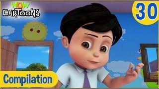 Vir The Robot Boy   Hindi Cartoon   Action Cartoons for Kids   Compilation #30   3D Cartoons