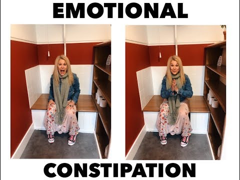 Emotional constipation.