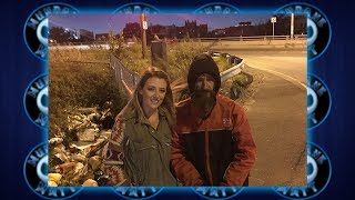 Woman raises $300k for Homeless Man who gave her $20 when she ran out of gas
