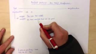 Engelska 6 - perfekt particip