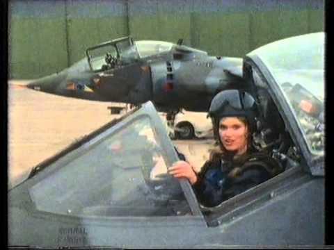 Harrier GR3 & Anneka