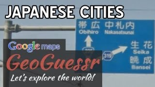 JAPANESE CITIES (Google Maps Streetview GeoGuessr) Free HD Video