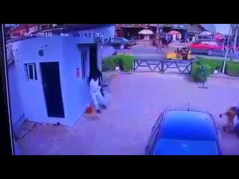 CCTV Footage of Bank Robbery at Gtbank in Offa Kwara State