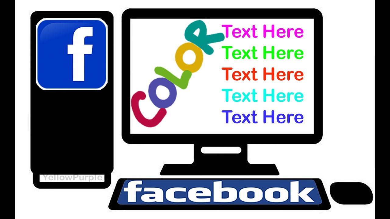 How to write in color on facebook business plan customer profile