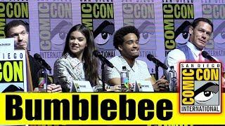 BUMBLEBEE | Comic Con 2018 Full Panel (Hailee Steinfeld, John Cena)