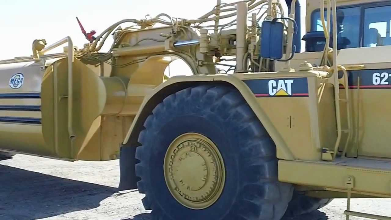 Cat Pulling Wagon : Cat g water wagon youtube