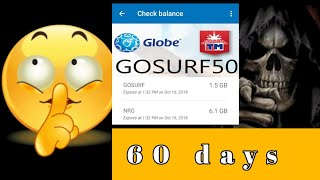 ILALABAS KO NA! GOSURF 60 DAYS VALIDITY