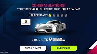 Unlock Porsche 918 Spyder | 40 Packs Opening + Test Drive