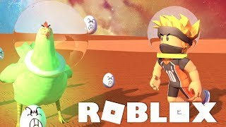 SPACE ATTACK OF CHICKENS! POITRINE MYTHIQUE! -ROBLOX