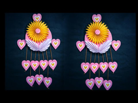Wall hanging craft ideas // wall hanging decoration
