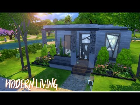 The Sims 4|Speed Build| Modern Living
