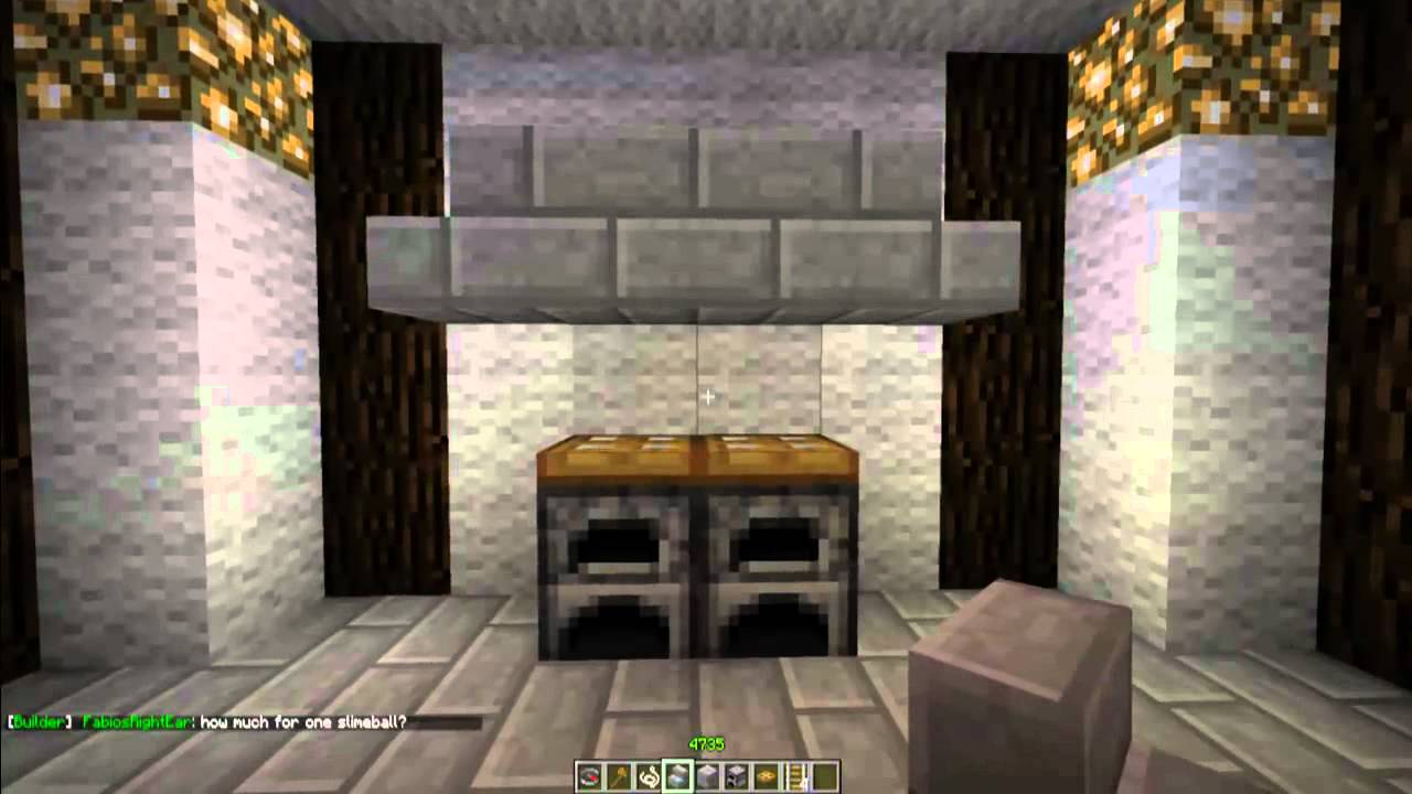 How To Make A Stove In Minecraft Minecraft Furniture Episode 28 Youtube