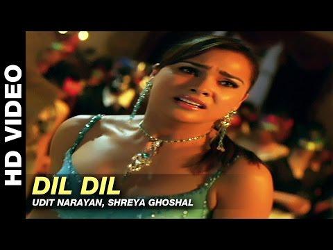 Dil Dil - Jurm   Udit Narayan, Shreya Ghoshal   Bobby Deol & Lara Dutta