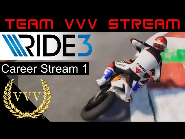Ride 3 Career stream 2