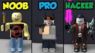 NOOB vs PRO vs HACKER (Roblox MMC Zombies Project)
