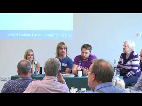 LHON society conference 2017 - living with low vision, panel discussion