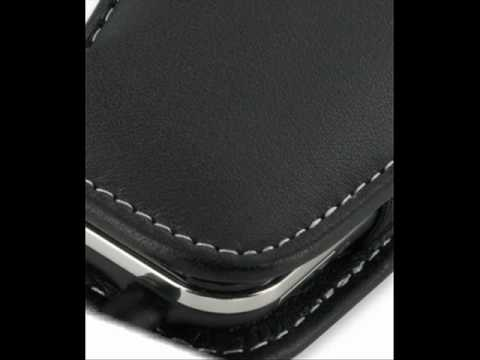 PDair Leather Case for Acer Neo Touch P400/beTouch E400 - Vertical Pouch Type Belt clip