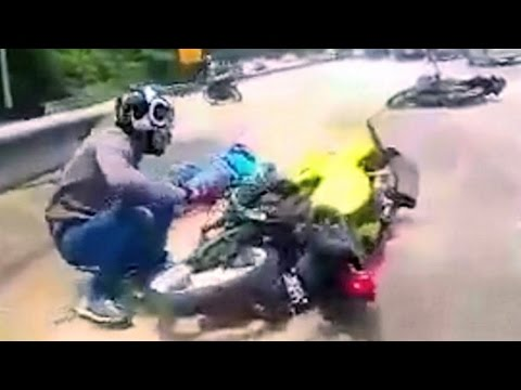 Thumbnail: Very Fast Motorcycle Ride that goes out of hand...