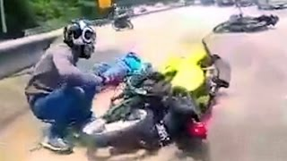 Very Fast Motorcycle Ride that goes out of hand...