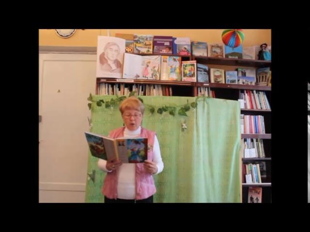 Изображение предпросмотра прочтения – ЛюдмилаТаранова читает произведение «Стрекоза и Муравей» И.А.Крылова