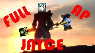 "League of legends "" Full AP Jayce vs Katarina "" - First time Jayce"
