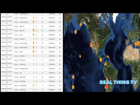 EQ and Volcanic Eruptions Ring of Fire!