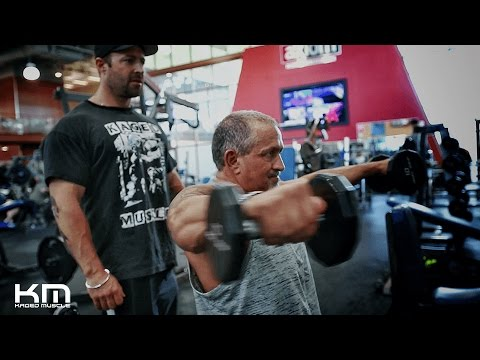 How To Improve Chest And Shoulder Development Workout Pt 2 With KM Ambassador Don
