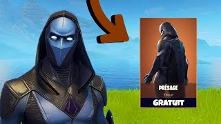 "NEW LEGENDARY SKIN ""PRÉSAGE"" ON FORTNITE!"
