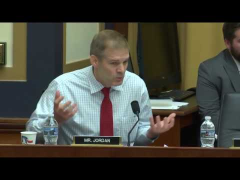 Rep. Jim Jordan (R-OH) Q/A about Loretta Lynch