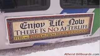 Atheist Bus Ads - Anchorage, AK - Freedom From Religion Foundation (FFRF) - Local news