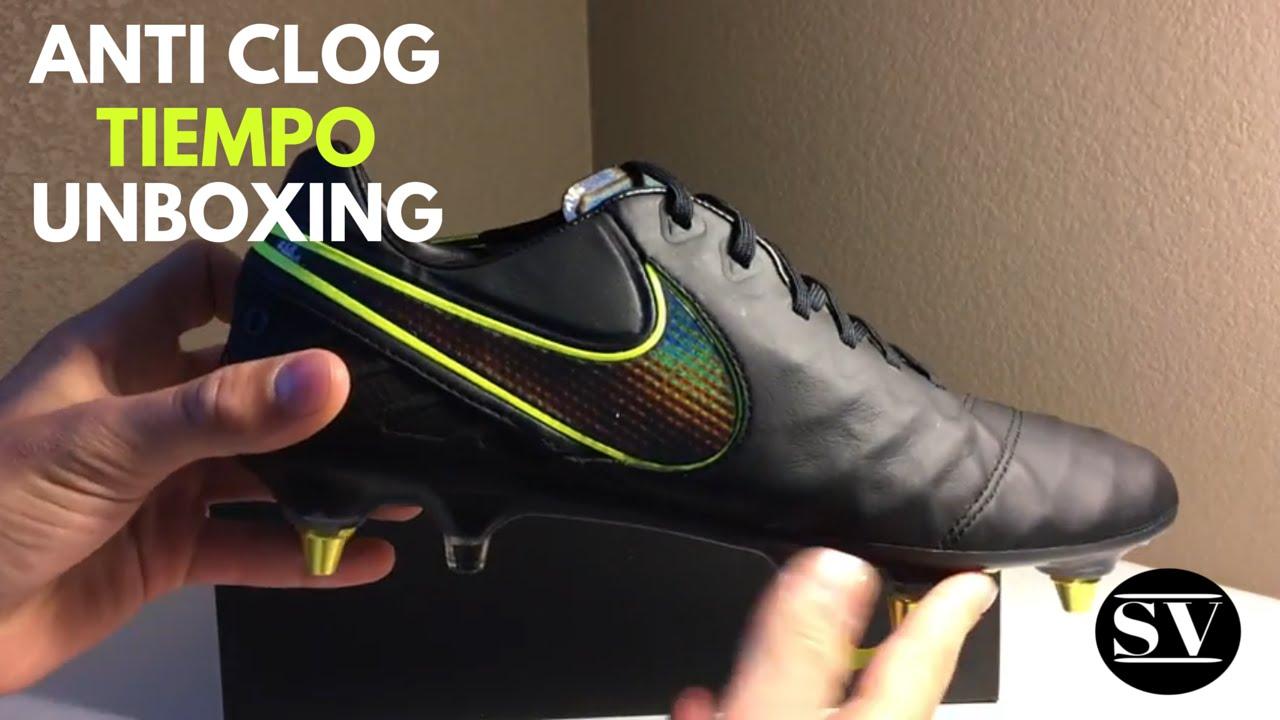 e39492ad3 Nike Anti Clog Tiempo Unboxing - YouTube