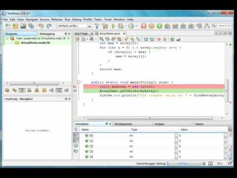 Java #N2 - Using the NetBeans Debugger