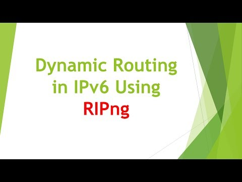 IPv6 RIPng Configuration in Cisco Router
