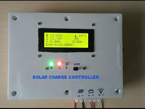 ARDUINO SOLAR CHARGE CONTROLLER (Version-2 0)