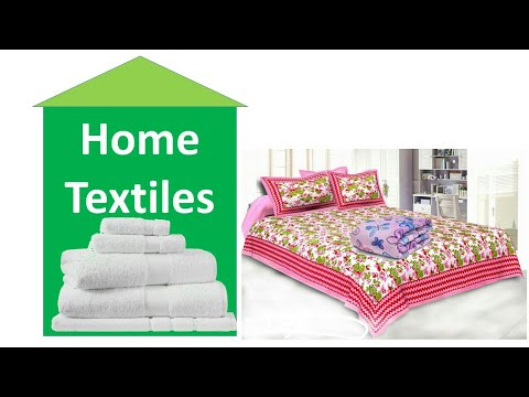 What Is Home Textiles & Types Of Home Textiles হোম টেক্সটাইল