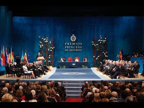 Discurso de S.M. el Rey en la entrega de los Premios Princesa de Asturias 2017