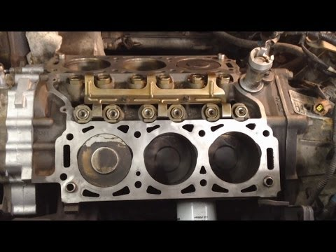 Ford Taurus 3.0L 12v Head Gaskets Replacement Pt 1
