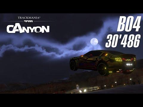 [WR] TrackMania² Canyon B04 | 30'486 by riolu!