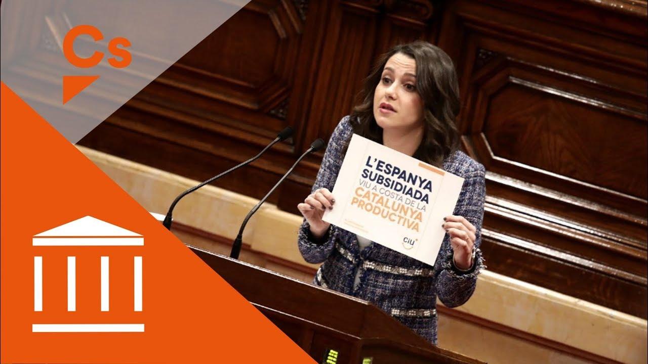 Barcelona Inés Arrimadas Desnuda Al Separatismo Wwsynthesis El
