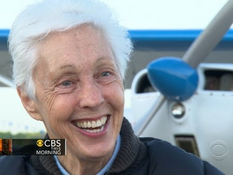 75-year-old woman fights to go to space