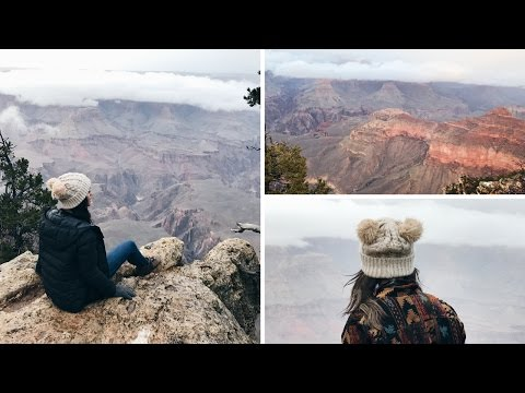 VISITING THE GRAND CANYON IN WINTER | #travelvlog