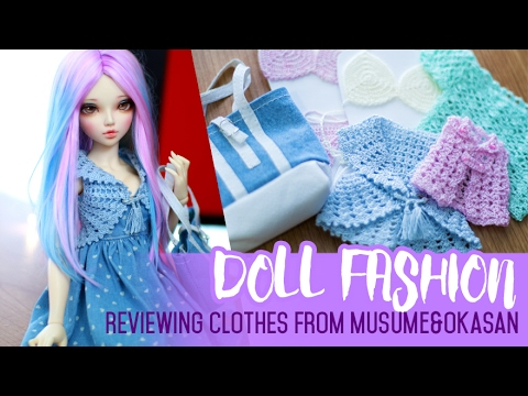 Doll Fashion ep.3 - Bags and Crochet Clothing featuring Musume & Okasan