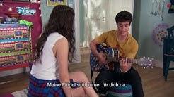 Rey versteckt sich unter Lunas Bett+Anna und Ricardo reden über Mora