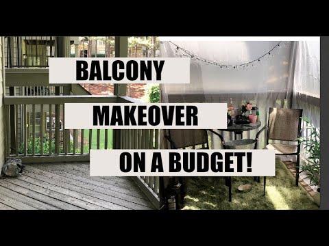 Balcony Makeover on a Budget | Balcony Tour