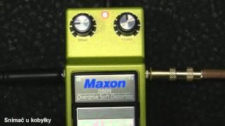 MAXON OSD-9 Overdrive/Soft Distortion + Fender 63' Telecaster Heavy Relic