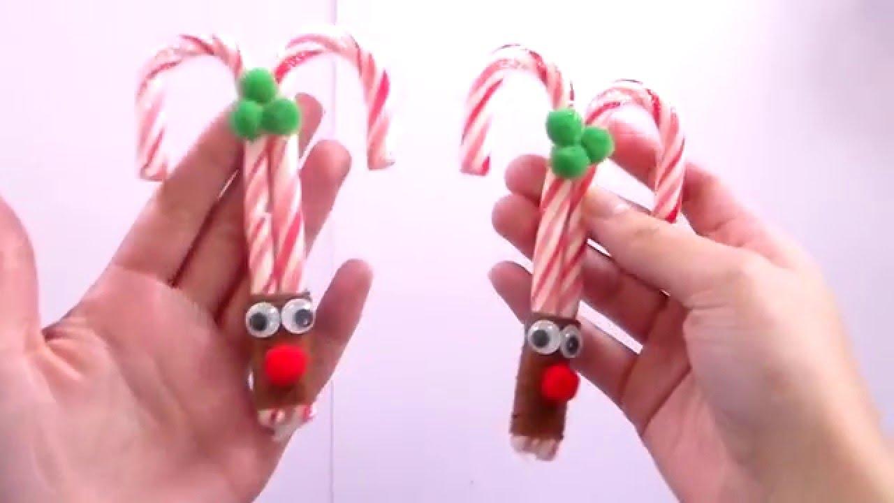especial navidad bastn de caramelo de reno