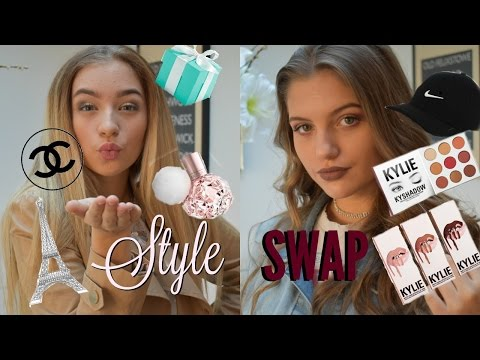 STYLE SWAP! Hair, Makeup & Outfit! EDGY VS GIRLY | Grace and Grace