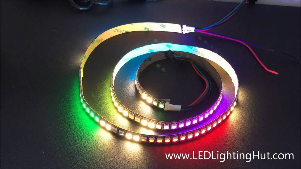 LEDLightingHut 144 LED/m SK6812 4 in 1 RGBW Digital Addressable LED Strip