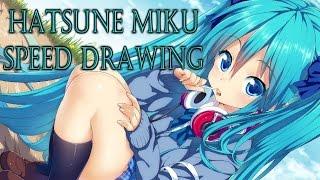 Speed Drawing - Hatsune Miku