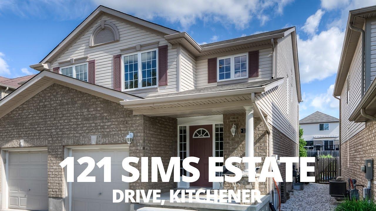 121 Sims Estate Drive   Kitchener Real Estate Video Tour